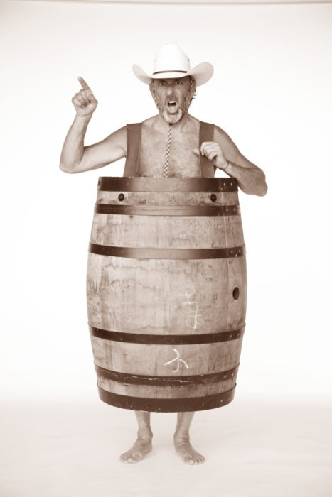 Ken in a Barrel